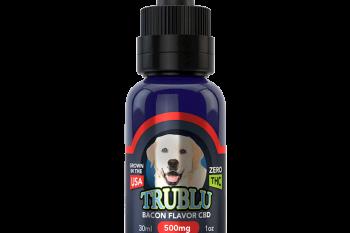 TruBlu Bacon CBD Dog Tincture 500mg