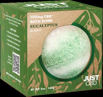 CBD Bath Bomb Eucalyptus Scent