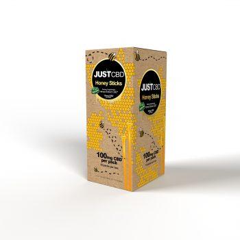 CBD Honey Sticks angled box