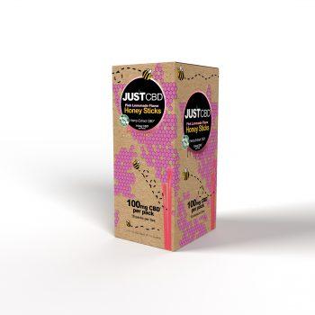 CBD Honey Sticks Pink Lemonade Flavor