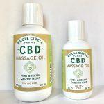 Whole Circle CBD massage oil