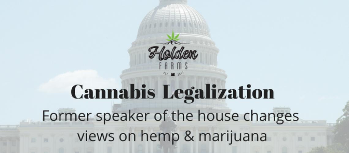 Boehner views on marijuana
