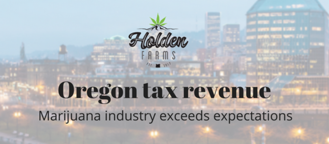 Oregon tax revenue